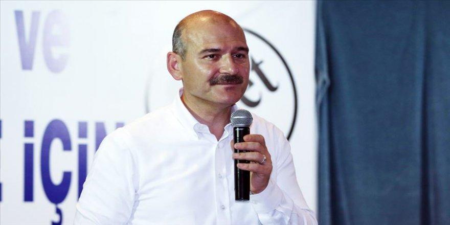 İçişleri Bakanı Soylu: Türkiye'yi huzur içinde yarına taşımak istiyoruz