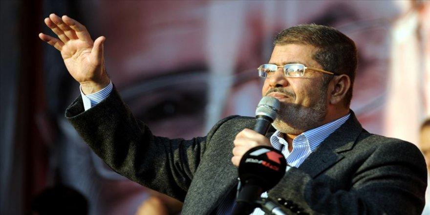 'Mursi'nin Mısır'da demokrasi ve adalete yönelik katkıları hatırlanacaktır'