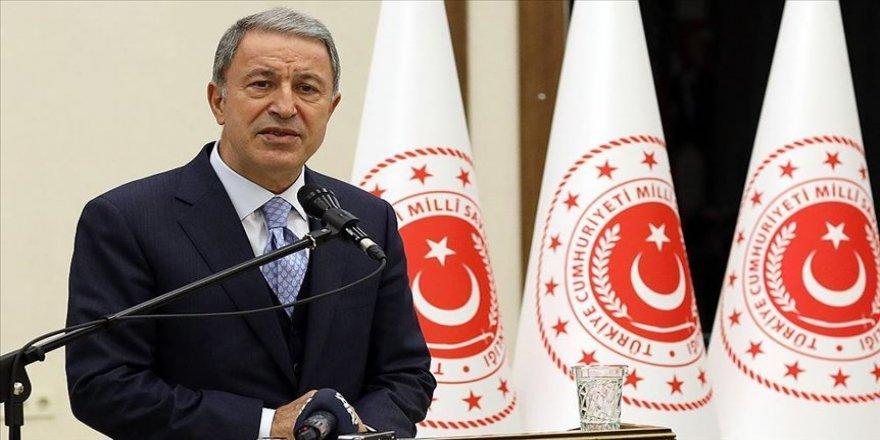 Milli Savunma Bakanı Akar: Müttefiklik ruhuna uygun hareket edilmesinden yanayız