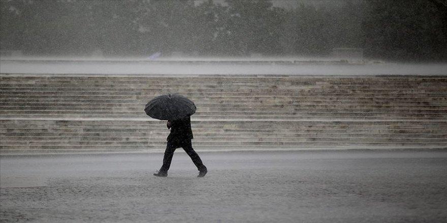 Sağanak yağış uyarısı