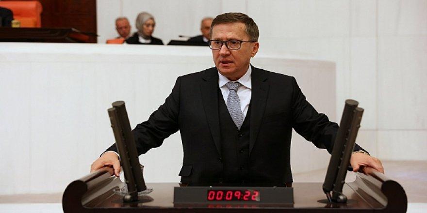 Türkkan, mecliste sert konuştu