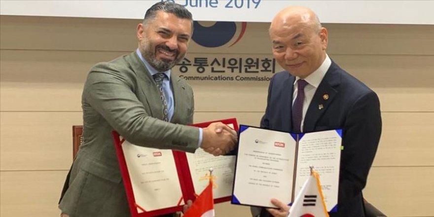 RTÜK heyeti Kore'de