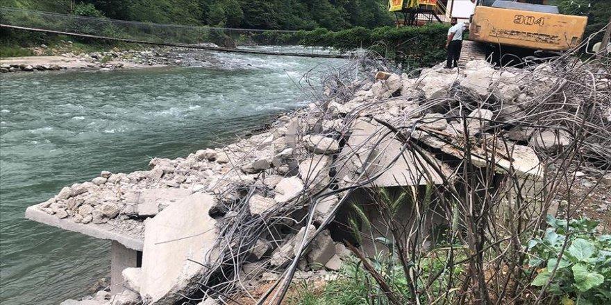 Fırtına Vadisi'nde kaçak yapıların yıkımında sona gelindi