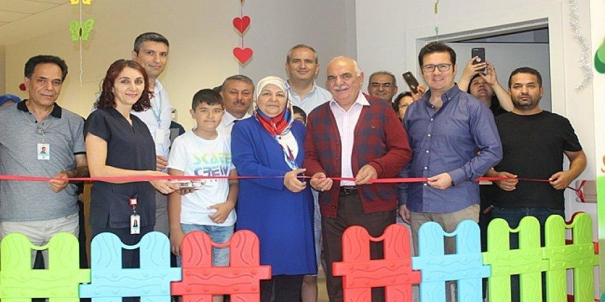 Fatih Devlet'e çocuk oyun alanı yapıldı