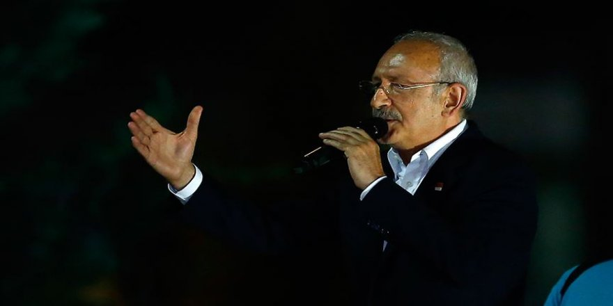 Kılıçdaroğlu: Türkiye süratle gerçek gündemine dönmelidir