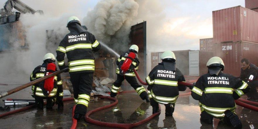 Kocaeli'de çıkan yangın sayısı