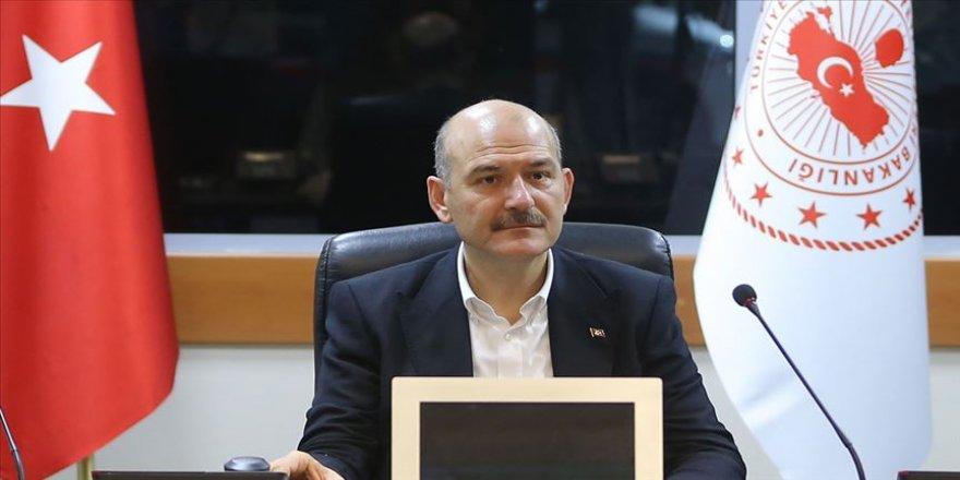 İçişleri Bakanı Soylu: Türkiye'yi diktatörlükle suçlayanlar, dün akşam sevinç çığlıkları atıyordu