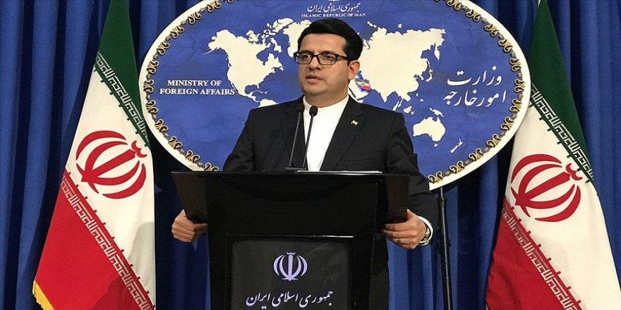 İran Dışişleri Bakanlığı Sözcüsü Musevi: ABD diplomasiye kapıları tamamen kapattı