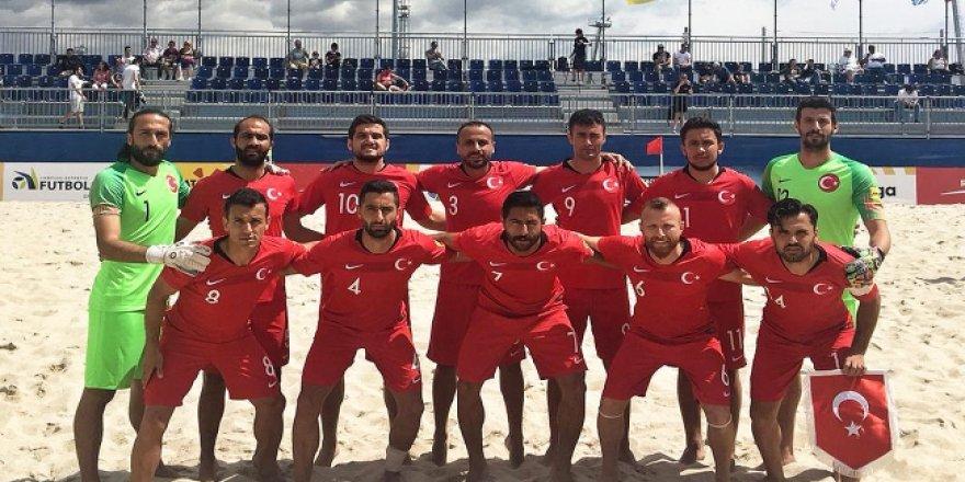 Plaj Futbolu Milli Takımı'nın aday kadrosu açıklandı