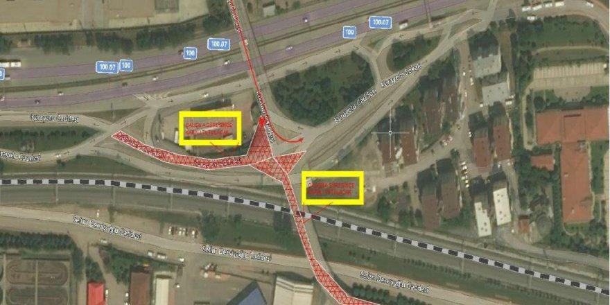 Mevlana Kavşağı'nda yeni trafik düzenlemesi
