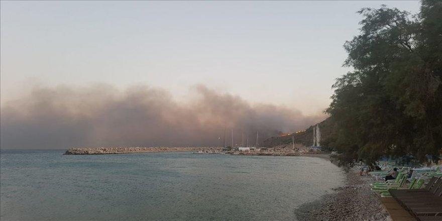 Muğla'daki orman yangını söndürüldü