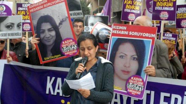 Kadın Cinayetlerinde Ceza İndirimi Olmaması İçini Yürüdüler
