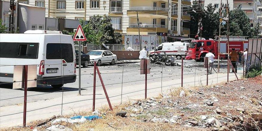 Hatay'da otomobilde patlama