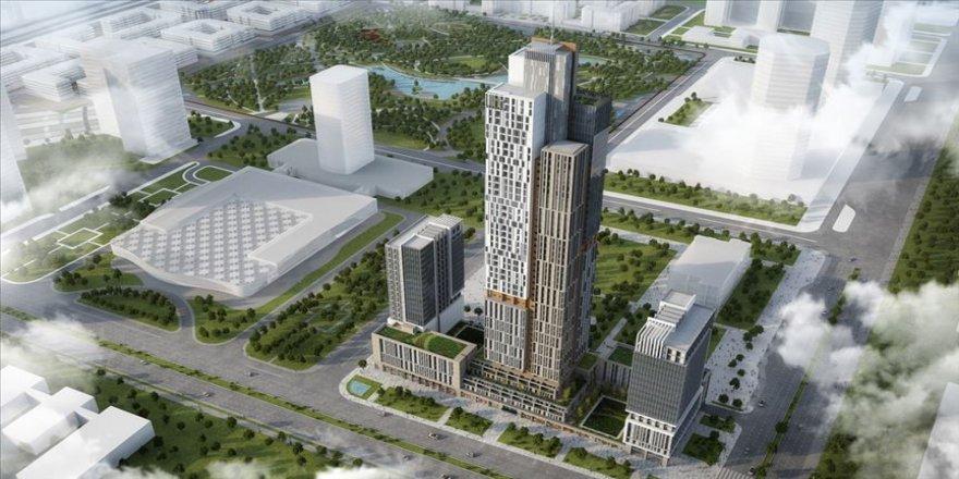 Orta Asya'nın en yüksek gökdelenini Türk şirketi yapacak