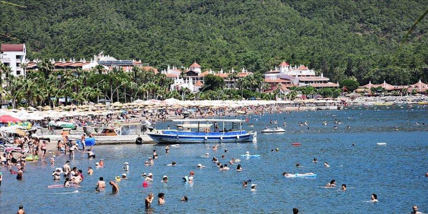 Turizm merkezlerinde yoğunluk