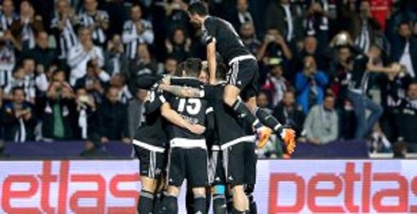 Beşiktaş, M. Sivasspor'u 2-0 Yendi