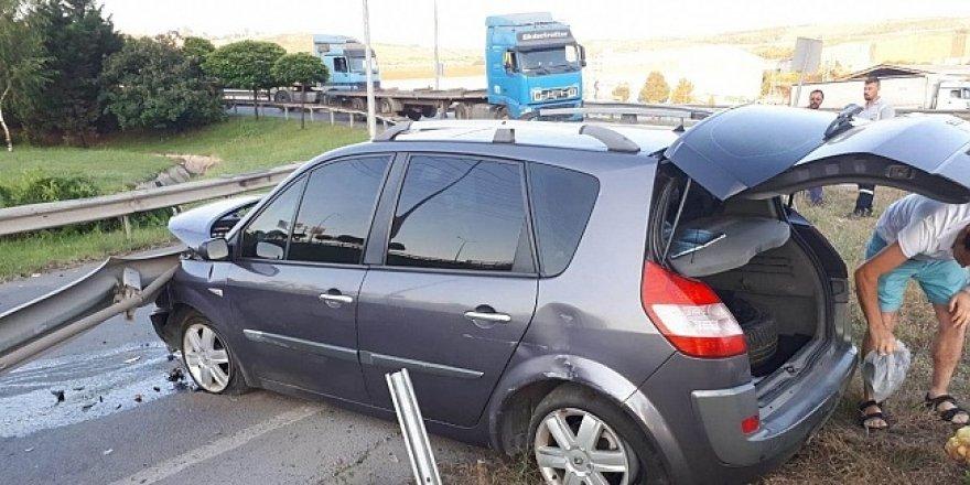 Darıca'da iki ayrı kaza