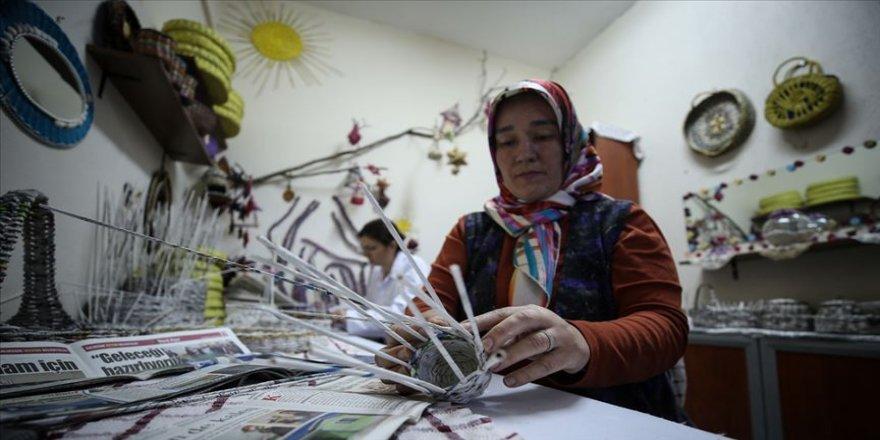 Yaşam merkezi kadınlara ekmek kapısı oldu