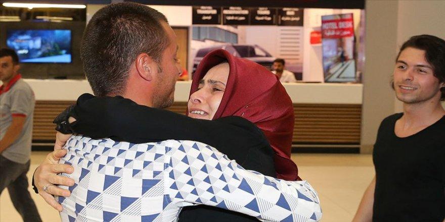 Serbest bırakılan Türk gemiciler İstanbul'a geldi