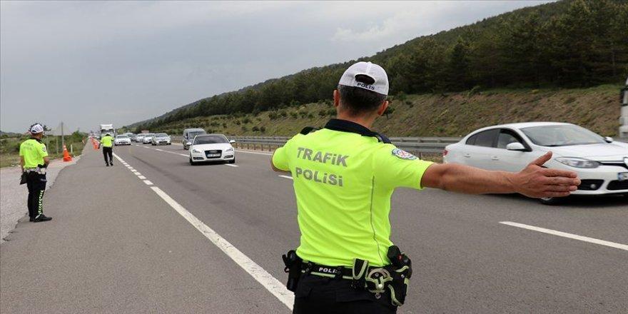 Trafik canavarının hızı etkin mücadeleyle kesildi