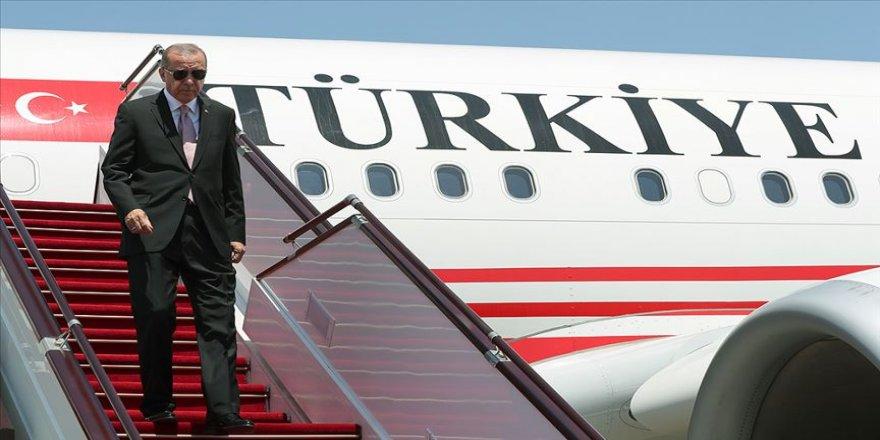 Cumhurbaşkanı Erdoğan Bosna Hersek'ten yurda döndü