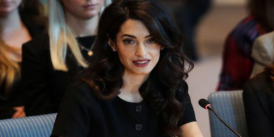 Amal Clooney'den dünya liderlerine 'Kaşıkçı' tepkisi