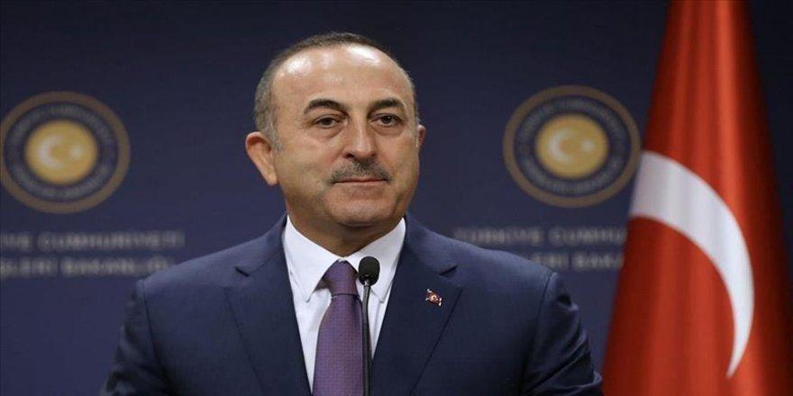 Çavuşoğlu, Barzani ile telefonda görüştü