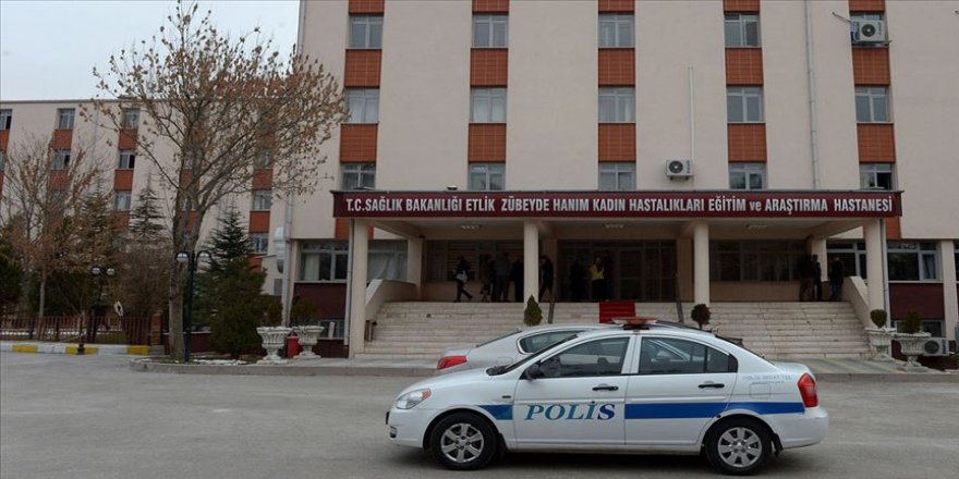 Hastanede 19 personel gazdan etkilendi