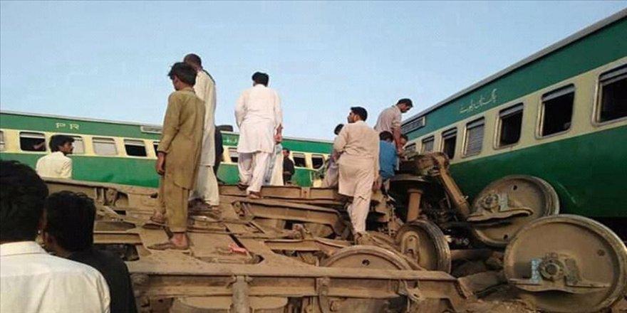 Tren kazası: 18 ölü