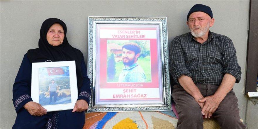 Büyük dedem Çanakkale'de şehit olmuş, oğlum da İstanbul'da'