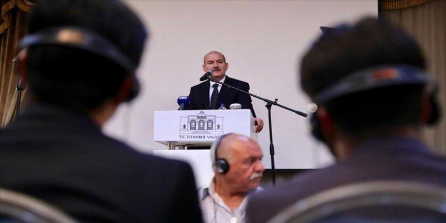 Bakan Soylu, Arap dünyasından gazetecilerle buluştu