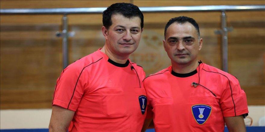 Türk hakem çifti dünya şampiyonasında görev alacak