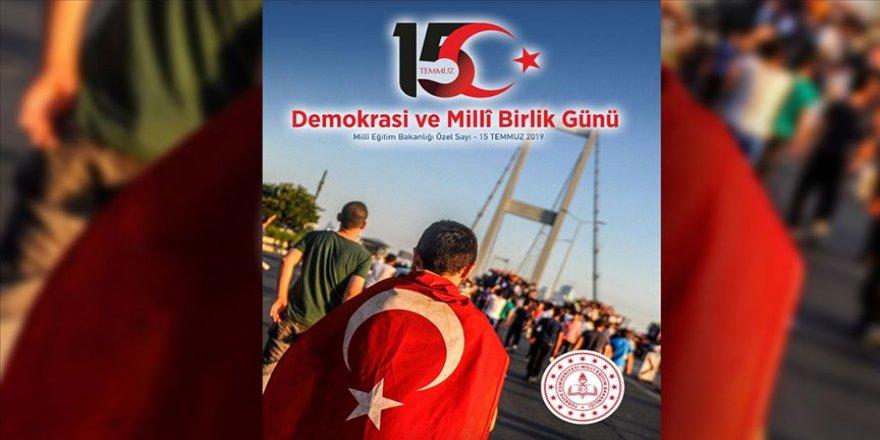 MEB'den '15 Temmuz Demokrasi ve Milli Birlik Günü' dergisi