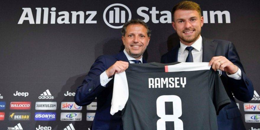 Juventus, Aaron Ramsey'i tanıttı