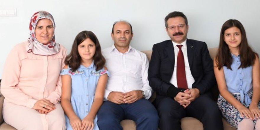 Aksoy'dan 15 Temmuz gazisine ziyaret
