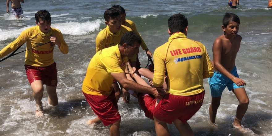 604 kişi boğulmaktan kurtarıldı