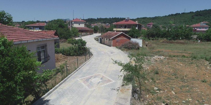 Köseler Köyü'nde üst yapı yenilendi