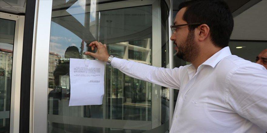Büyükşehir'de grev kararı asıldı