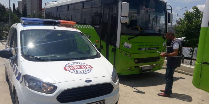 Gebze'de yolcuyu darp eden şoföre ceza