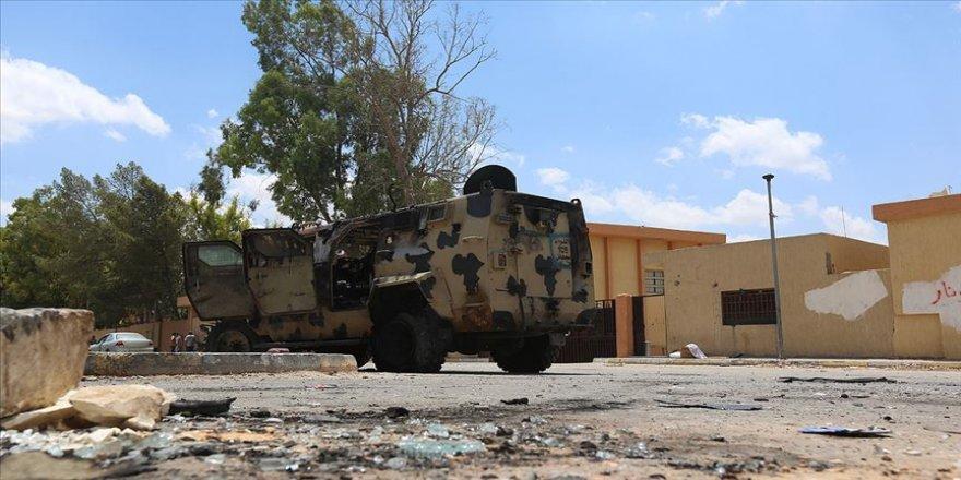 Libya'da UMH'den Hafter güçlerine hava saldırısı