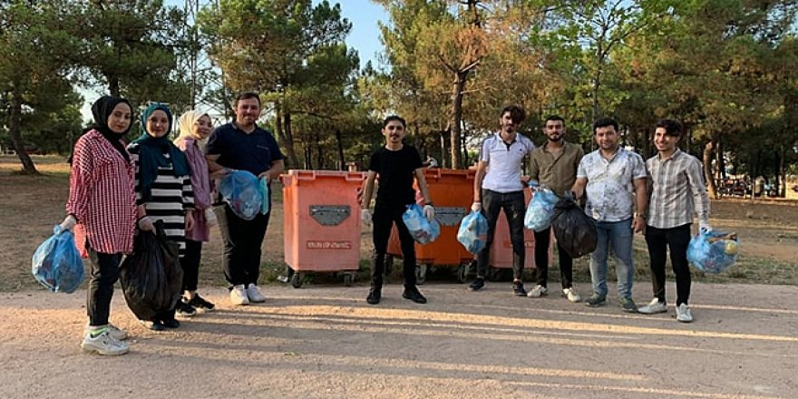 Çayırova'da temizlik çalışması