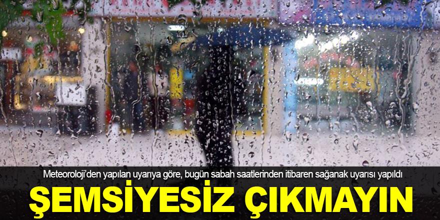 Şemsiyesiz çıkmayın