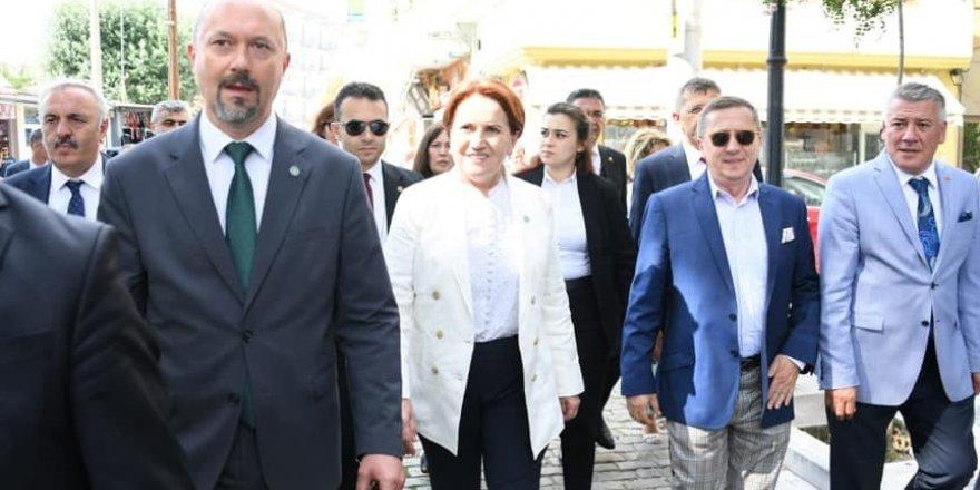Türkkan, Akşener ile Balkanlara gitti