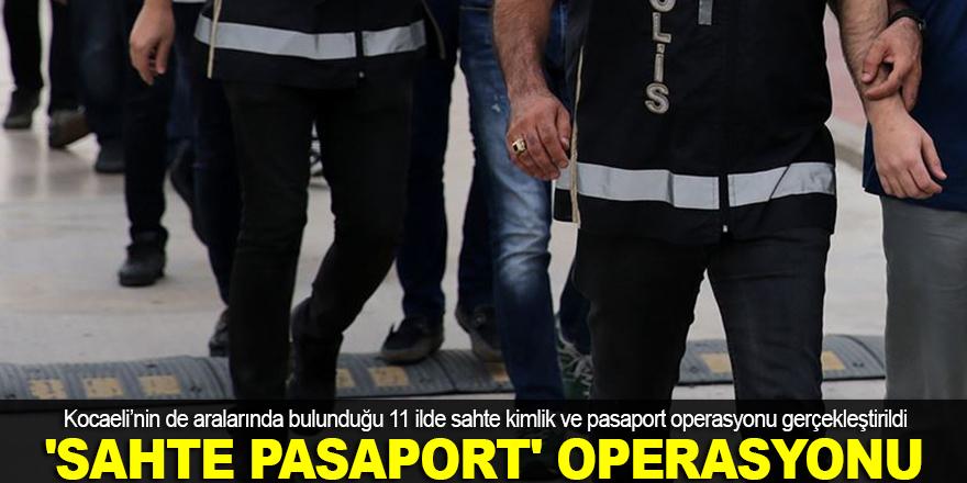 'Sahte pasaport' operasyonu
