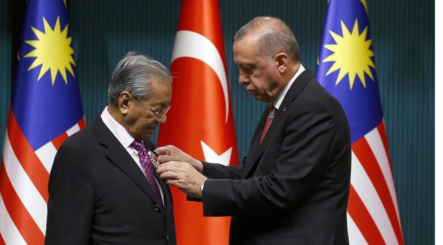 Mahathir'in Türkiye ziyareti Malezya basınında geniş yer buldu