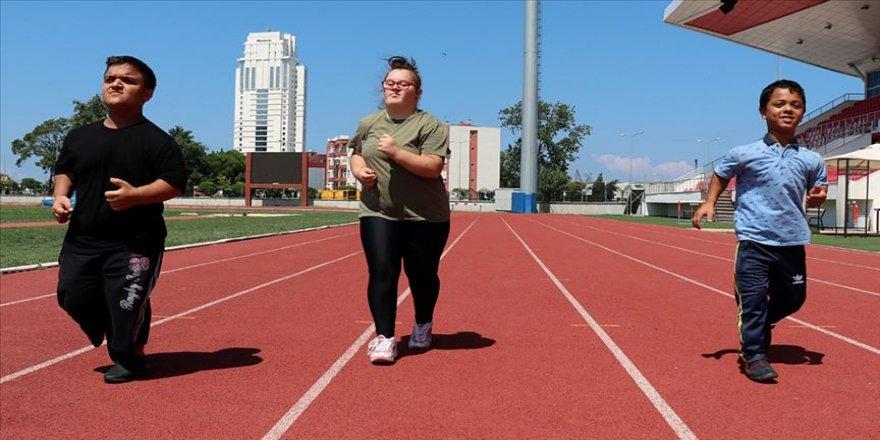 Genç paralimpik sporcuların hedefi Avrupa şampiyonluğu