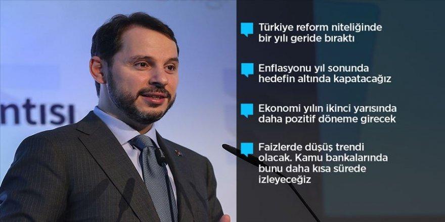 Hazine ve Maliye Bakanı Albayrak: Türkiye ekonomisi bu yıl pozitif büyüyecek