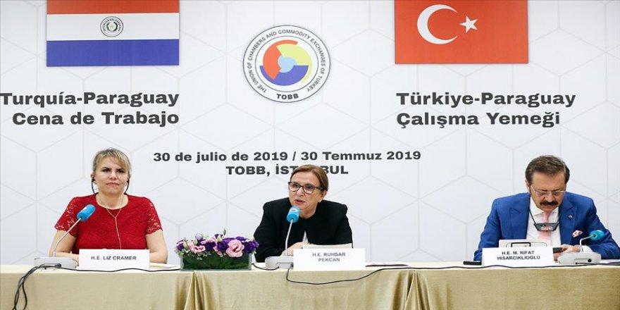 'Türkiye ile Paraguay arasındaki iş dünyasının önündeki engelleri kaldırmaya hazırız'