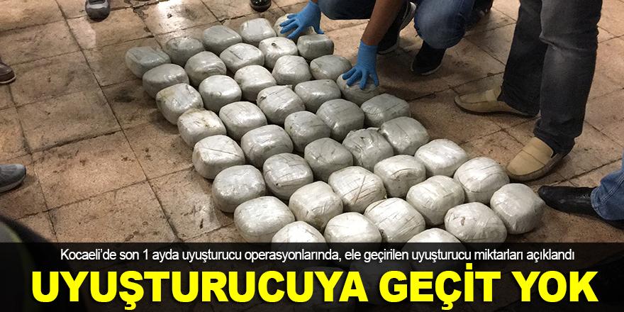 Kocaeli'de uyuşturucuya geçit yok