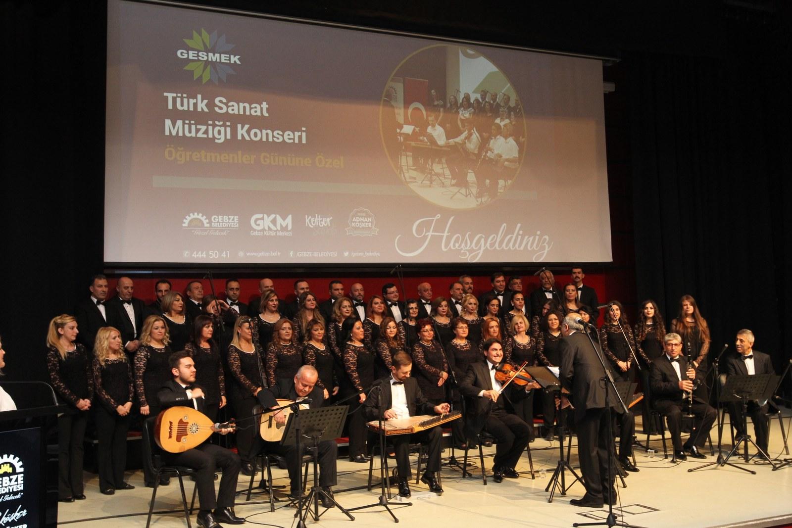 Öğretmenlere özel musiki konseri